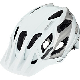 Alpina Garbanzo Cykelhjelm, white-grey